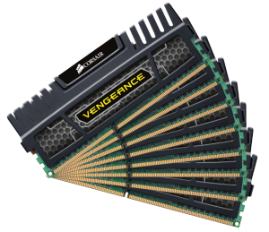 Bild Corsair Vengeance 64GB (8 x 8GB) DDR3 CL9 1600MHz