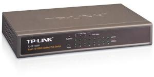 Bild TP-Link PoE Switch 8-portar 10/100 Bordsmodell