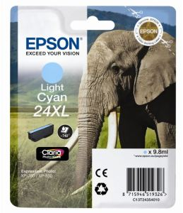 Bild Epson Claria 24XL Light Cyan