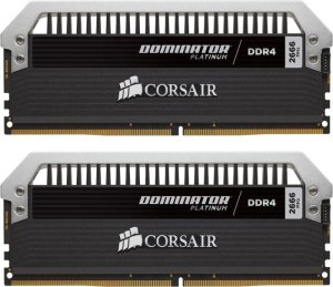 Bild Corsair Dominator Platinum 32GB (2 x 16GB) 2666MHz CL15