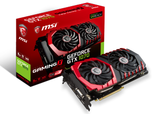 Bild MSI GeForce GTX 1070 GAMING X 8GB TwinFrozr VI