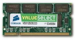 Bild Corsair Value Select 2GB 667MHz DDR II SO-DIMM
