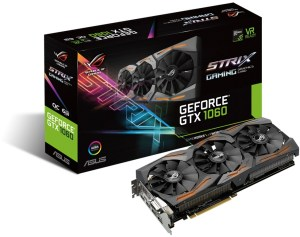 Bild ASUS GeForce GTX 1060 ROG STRIX 6GB OC