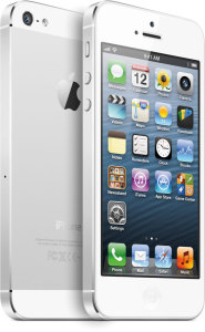 Bild Apple iPhone 5 32GB Vit - Olåst - Approved Selection