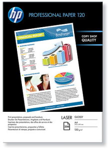 Bild HP Professional Glossy Laser Paper A4 120 g/m2 250 sheet
