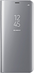 Bild Samsung Clear View Standing Cover Galaxy S8+ Silver