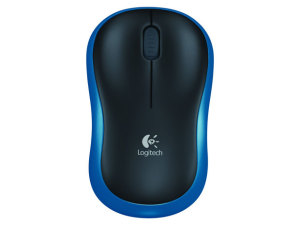 Bild Logitech M185 Wireless Mouse Swift Blue