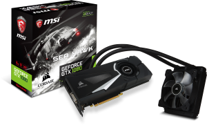 Bild MSI GeForce GTX 1080 Sea Hawk X 8GB