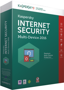 Bild Kaspersky Internet Security MultiDevice 2016 - 1 år, 1 enhet