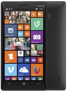 "Bild Nokia Lumia 930 - Svart - 4G LTE - 32 GB - 5"" - ClearBlack - GSM - Windows-telefon"