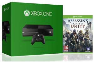 Bild Microsoft Xbox One 500gb + Assassins Creed Unity