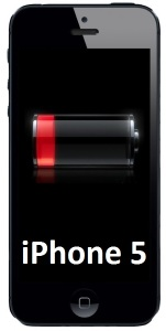Bild Apple iPhone 5 (A1429) Batteribyte