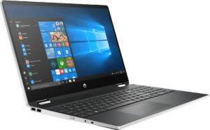 "Bild HP Pavilion x360 - 15.6"" Touch - Core i3 - 8GB - 256GB SSD - Win 10 Home"