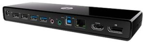 Bild HP 3005pr USB 3.0 Port Replicator - USB-dockningsstation