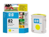 Bild HP No.82 Yellow (69ml)