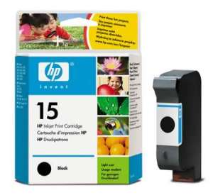 Bild HP No.15 Black (14ml)