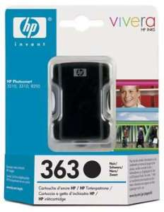 Bild HP No.363 Black (6ml)