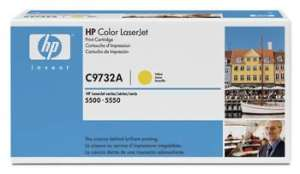 Bild HP Toner C9732A Yellow 12K