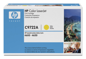Bild HP Toner C9722A Yellow 8K