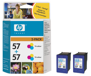 Bild HP No.57 Color (17ml) 2-pack