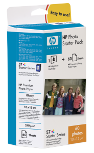 Bild HP No.57 Photo Pack 10x15/tab 60S