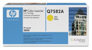 Bild HP Toner Q7582A Yellow 6K