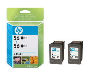 Bild HP No.56 Black (19ml) 2-Pack
