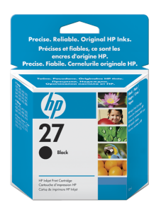 Bild HP No.27 Black (10ml)
