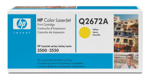 Bild HP Toner Q2672A Yellow 4K