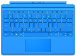 Bild Microsoft Surface Pro 4 Type Cover Commercial - Bright Blue