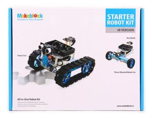 Bild Makeblock Starter Robot Kit - Blue (IR Version)