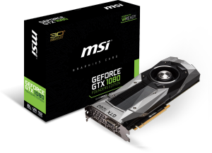 Bild MSI GeForce GTX 1080 Founders Edition 8GB
