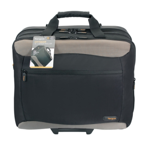 Bild Targus 17.3'' XL Metro Rolling Notebook Case Black/Silver