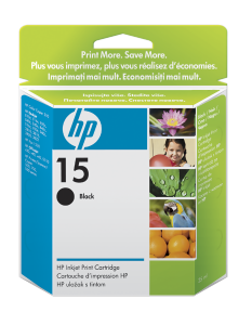 Bild HP No.15 Black (25 ml)