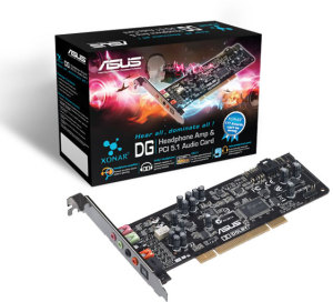 Bild ASUS Xonar DG PCI 5.1 inkl. Low Profile
