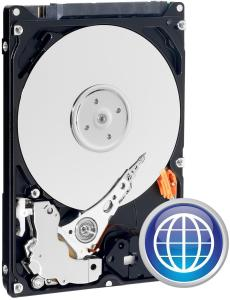 Bild Western Digital Scorpio Blue Mobile 500GB 5400RPM 8MB - Demopris!