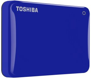 Bild Toshiba Canvio Connect II 3TB USB 3.0 Blå
