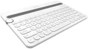 Bild Logitech K480 Multi-Device Keyboard - Vit
