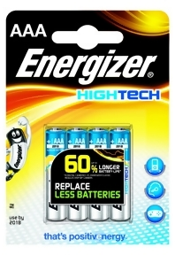 Bild Energizer Batterier HighTech AAA (LR03) 4-pack