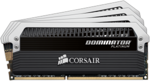 Bild Corsair Dominator® Platinum 16GB (4 x 4GB) DDR4 3600MHz CL18
