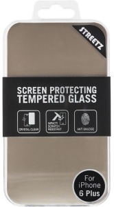 Bild STREETZ transparent skärmskydd härdat glad iPhone 6 Plus, 1-pack