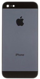 Bild Apple iPhone 5S Chassibyte - Svart