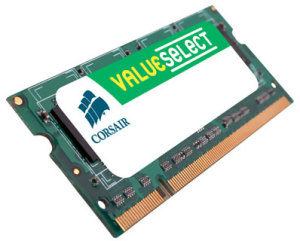 Bild Corsair Value Select 4GB 1066MHz SO-Dimm DDR3