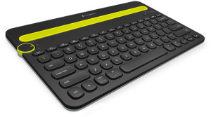 Bild Logitech K480 Multi-Device Keyboard - Svart