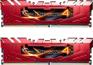 Bild G.Skill Ripjaws 4 Red 16GB (2 x 8GB) DDR4 2666MHz