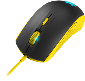Bild SteelSeries Rival 100 Proton Yellow