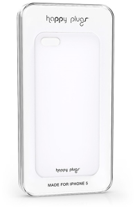 Bild Happy Plugs Ultra Thin iPhone 5 Case - Vit