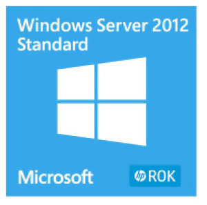 Bild HP Microsoft Windows Server 2012 R2 Standard - BIOS-låst (HP) Flerspråkig