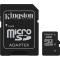 Produktbild Kingston 4GB micro SDHC Class 4 + Adapter