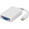 Produktbild Deltaco mini DisplayPort till VGA-adapter 20-pin ha - 15-pin ho 0,05m